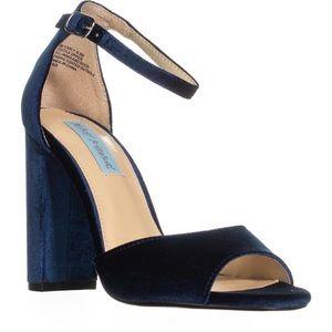 Betsey Johnson | Carly Block Heel Ankle Strap